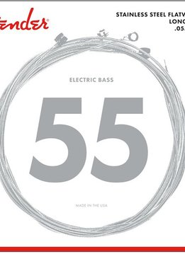 Fender Fender Stainless Steel Flatwound, 9050L, Bass Strings, 045-100