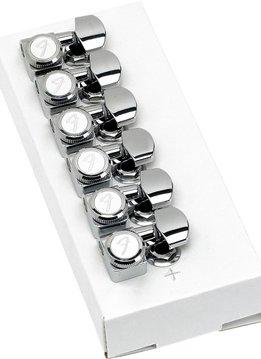 Fender Fender Locking Stratocaster®/Telecaster® Tuning Machines (Polished Chrome) (6)