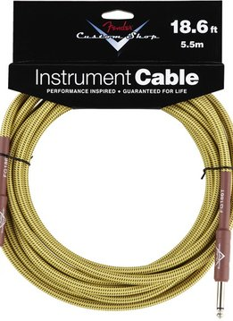 Fender Fender 10' Tweed Instrument Cable - K