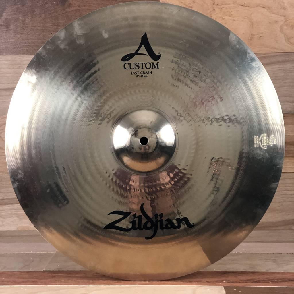 "Zildjian Zildjian 17"" A Custom Fast Crash - Mint"
