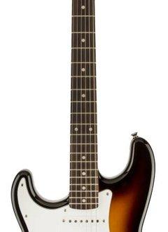Squier Squier Affinity Series™ Stratocaster®, Left-Handed, Rosewood Fingerboard, Brown Sunburst