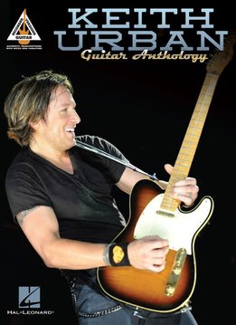 Hal Leonard Keith Urban Guitar Anthology