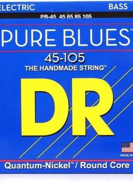 DR DR PB-45 Pure Blues Bass Set, 45-105