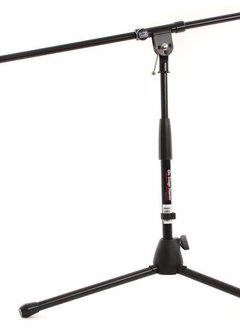"""On-Stage On-Stage MS7411B Drum/Amp Tripod with Boom 17""""-27"""" Height- Black"""