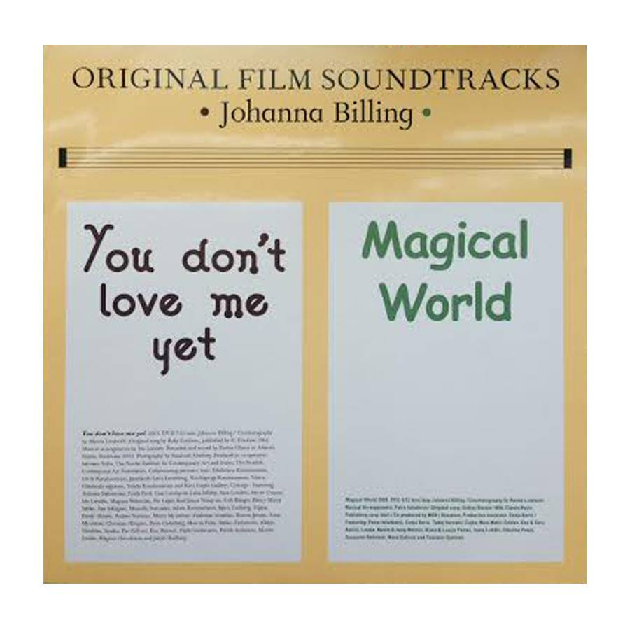 Original Film Soundtrack by Johanna Billing