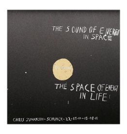 The Sound of Energy in Space by Chris Johanson