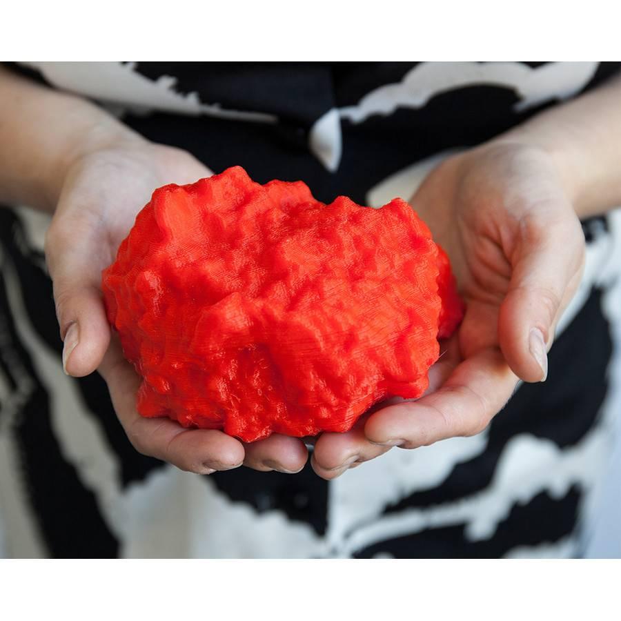 Kavi Gupta Gallery Glenn Kaino Tote Bag with 3D printed rock