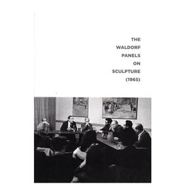 Soberscove Press The Waldorf Panels on Sculpture (1965) by Phillip Pavia (ed.)