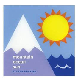 Soberscove Press mountain ocean sun by Davin Brainard