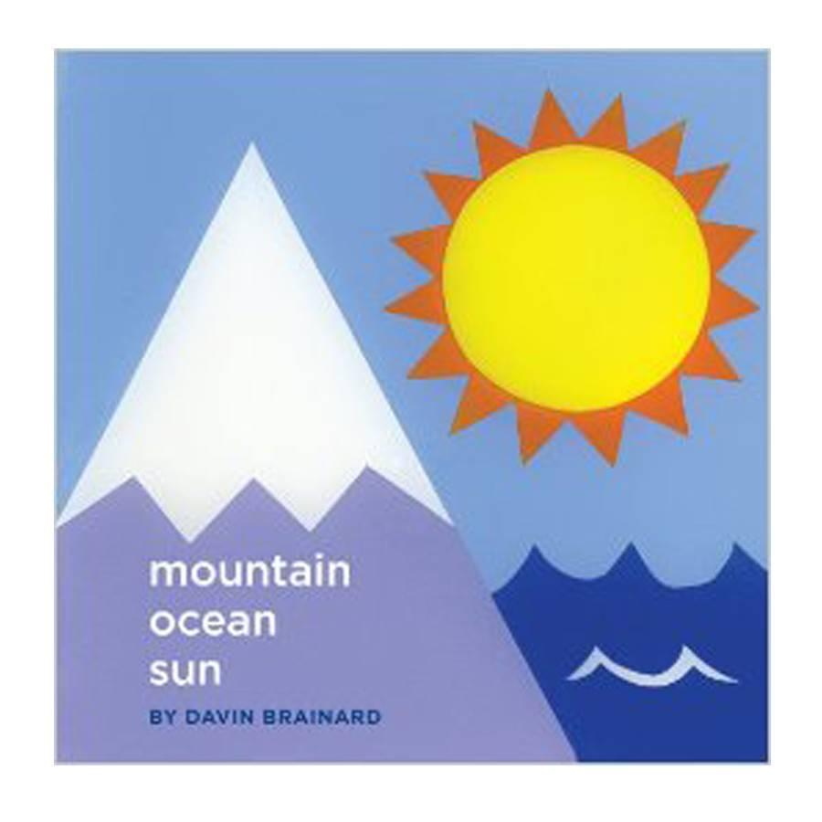 Soberscove Press mountain ocean sun by Davin Brainard