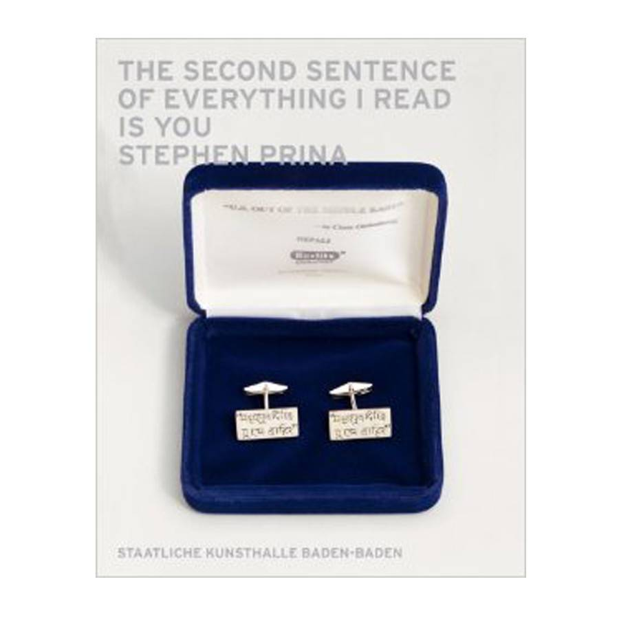 Contemporary Art Museum St. Louis Stephen Prina: The Second Sentence of Everything I Read Is You