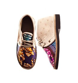 Brother Vellies Birds Shoe by Mickalene Thomas x Brother Vellies
