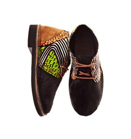 Brother Vellies Zebra Shoe by Mickalene Thomas x Brother Vellies