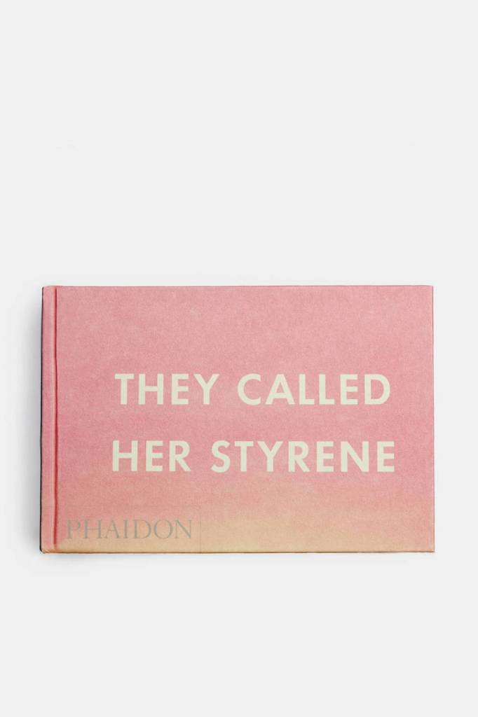Phaidon They Called Her Styrene by Ed Ruscha