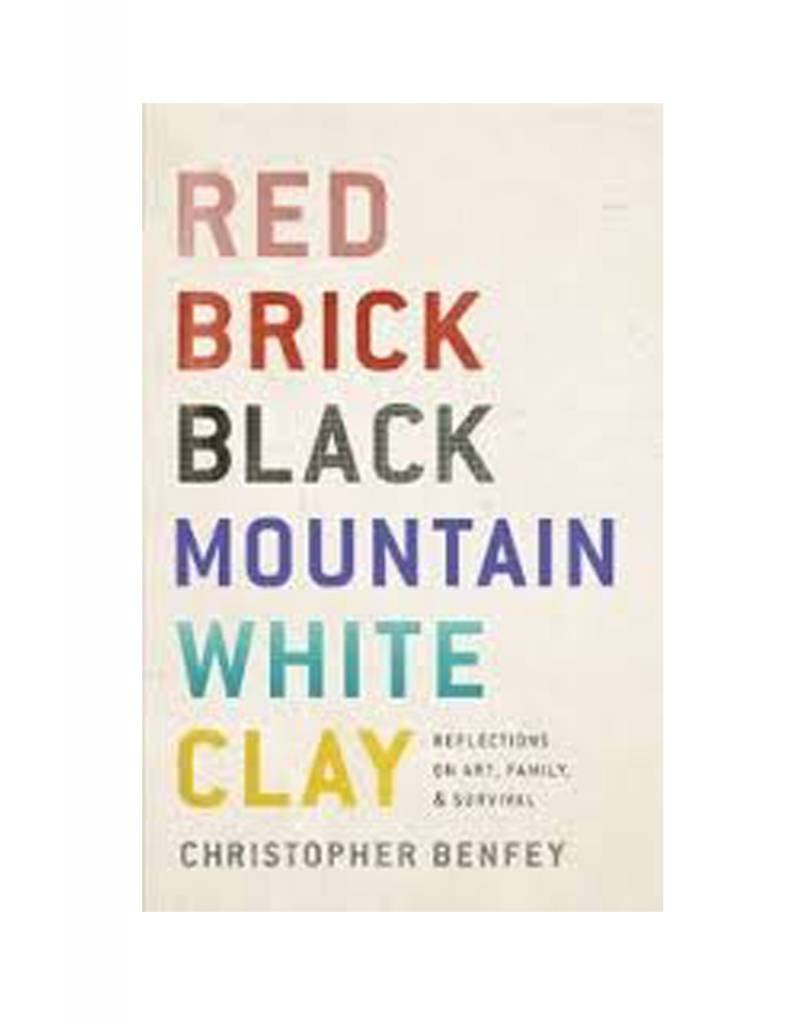 Penguin Red Brick, Black Mountain, White Clay by Christopher Benfey