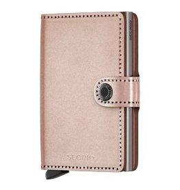 SECRID Secrid Metallic Mini Wallet - Metallic Rose