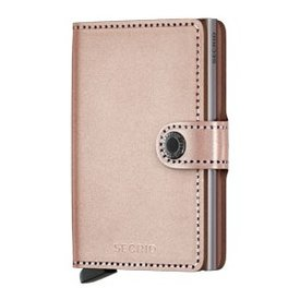 SECRID Secrid Metallic Mini Wallet - Metallic Rose