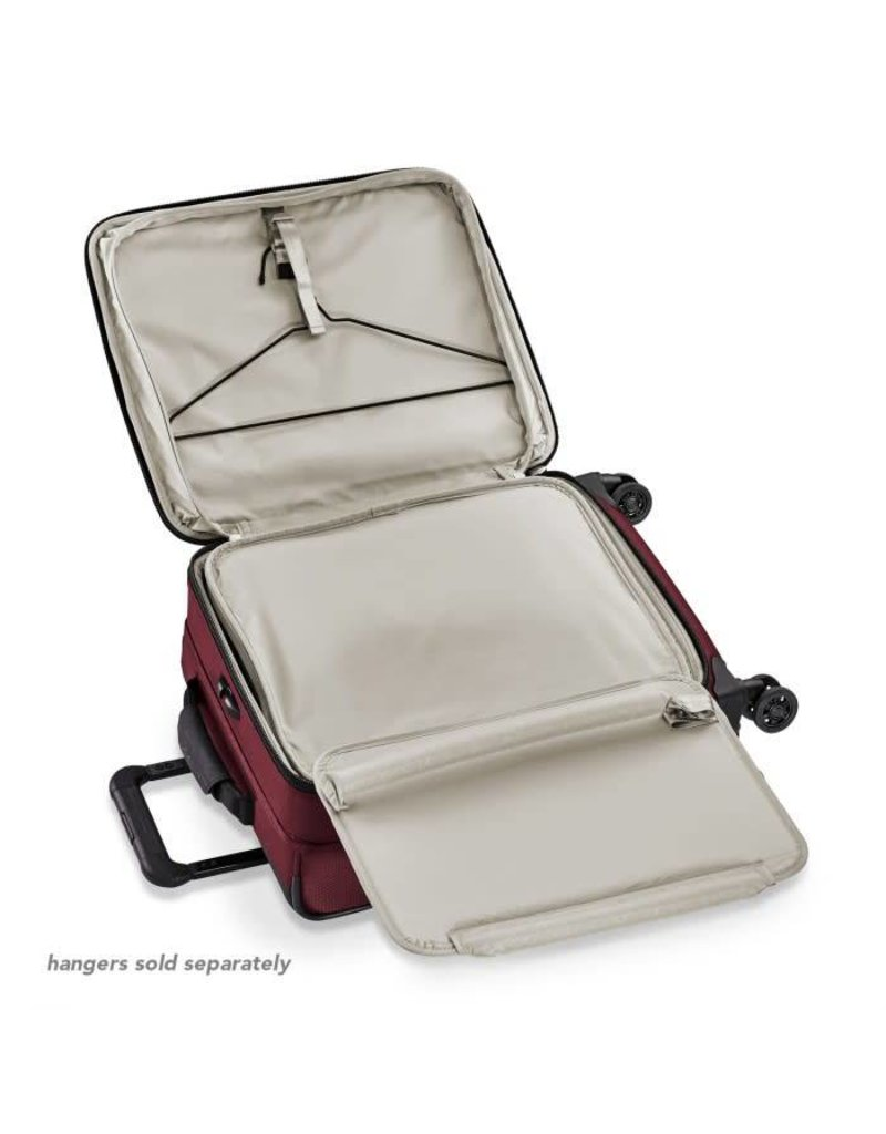 """Briggs & Riley Briggs & Riley Transcend Intl 21"""" Carry-On Expandable Wide-Body Spinner"""