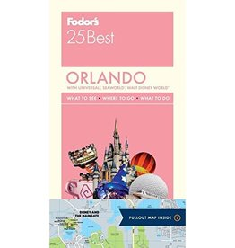 FODOR Fodor's Orlando 25 Best (Full-color Travel Guide) 3RD Edition