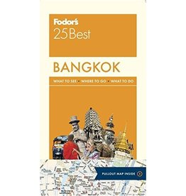 FODOR Fodor's Bangkok 25 Best (Full-color Travel Guide) 6TH Edition