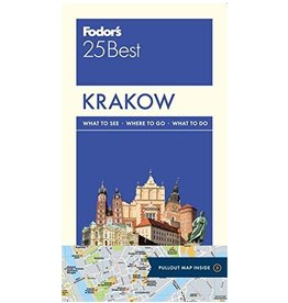 FODOR Fodor's Krakow 25 Best (Full-color Travel Guide) 1st Edition