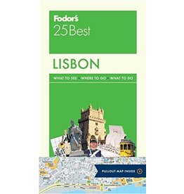 FODOR Fodor's Lisbon 25 Best (Full-color Travel Guide) 5TH Edition