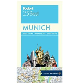 FODOR Fodor's Munich 25 Best (Full-color Travel Guide) 6TH Edition