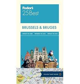 FODOR Fodor Brussels & Bruges 25 Best (Full-color Travel Guide) 5TH Edition
