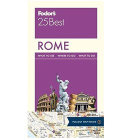 FODOR Fodor's Rome 25 Best (Full-color Travel Guide) 12TH Edition