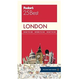 FODOR Fodor's London 25 Best (Full-color Travel Guide) 12TH Edition