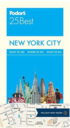 Fodor's New York City 25 Best (Full-color Travel Guide) 13TH Edition