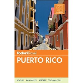 FODOR Fodor's Puerto Rico (Full-color Travel Guide) 9th Edition