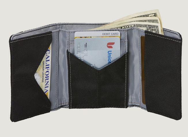 Eagle Creek Eagle Creek RFID Tri-Fold Wallet Black