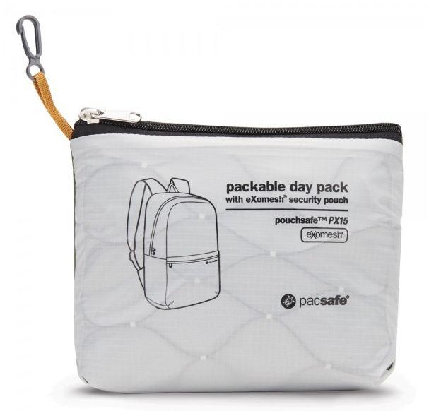 Pacsafe Pacsafe Pouchsafe Packable Daypack PX15
