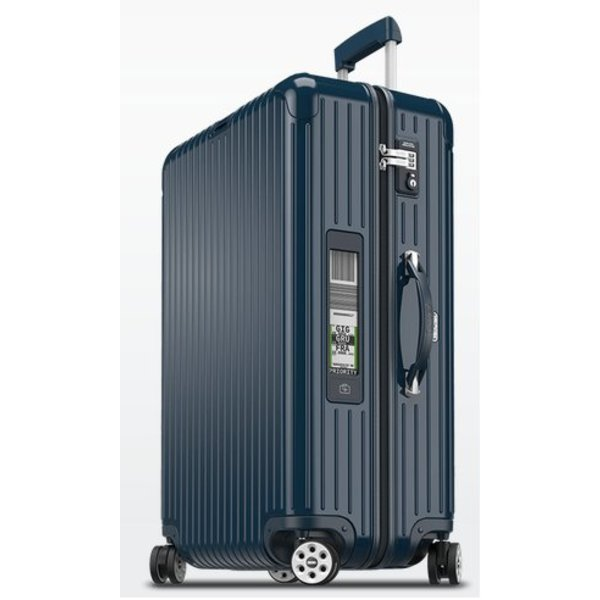 "Rimowa Rimowa Salsa Deluxe 30"" Electronic Tag Multiwheel Suitcase"
