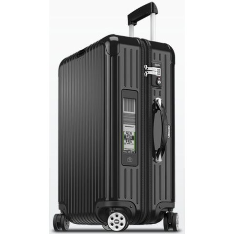 """Rimowa Salsa Deluxe 26"""" Electronic Tag Multiwheel Suitcase"""