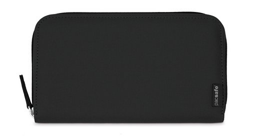Pacsafe Pacsafe RFIDsafe LX250 RFID Blocking Zippered Travel Wallet