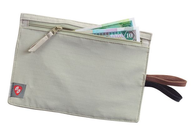 LEWIS & CLARK Lewis N Clark RFID Hidden Travel Wallet