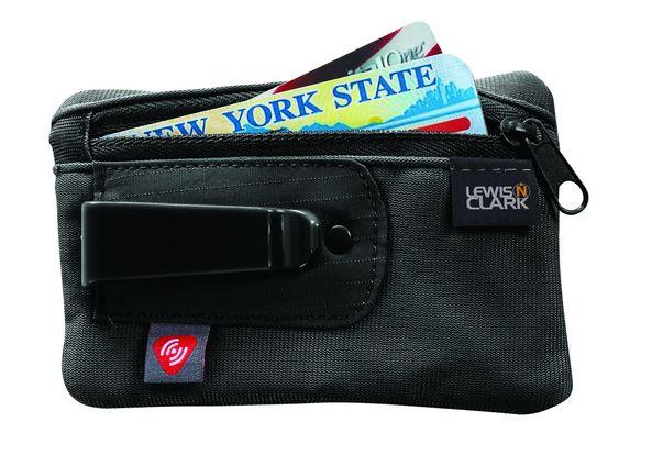 Lewis N Clark RFID-Blocking Clip Stash