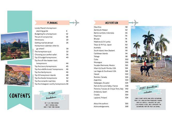 Lonely Planet Honeymoon Handbook