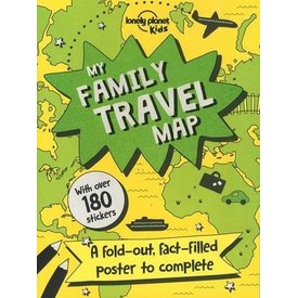Lonely Planet Lonely Planet  My Family Travel Map