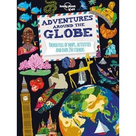 Lonely Planet Lonely Planet  Adventures Around the Globe – World Atlas