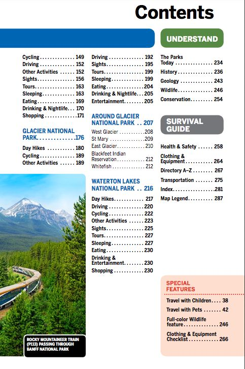 Lonely Planet Lonely Planet  Banff, Jasper & Glacier National Parks Guide