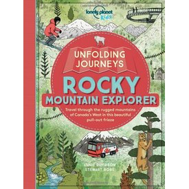 Lonely Planet Lonely Planet Unfolding Journeys Rocky Mountain Explorer