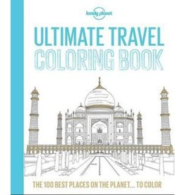Lonely Planet Lonely Planet Ultimate Travel Coloring in Book