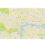 Lonely Planet Lonely Planet London City Map