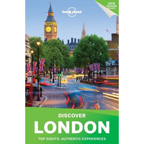 Lonely Planet Discover London 2017