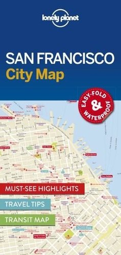 Lonely Planet Lonely Planet San Francisco City Map