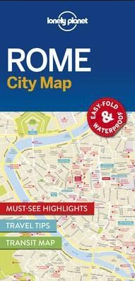 Lonely Planet Lonely Planet Rome City Map