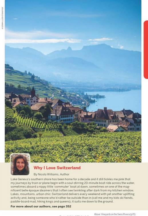 Lonely Planet Lonely Planet Switzerland